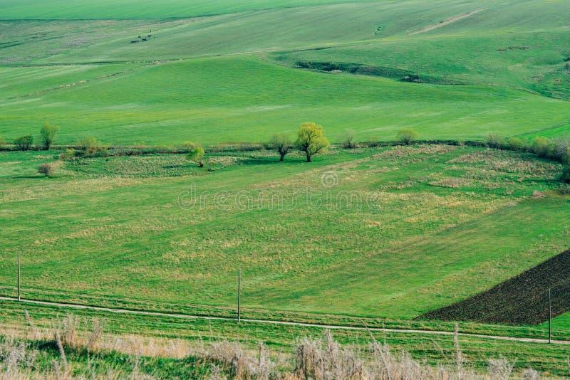 Landelijk platteland royalty-vrije stock afbeeldingen