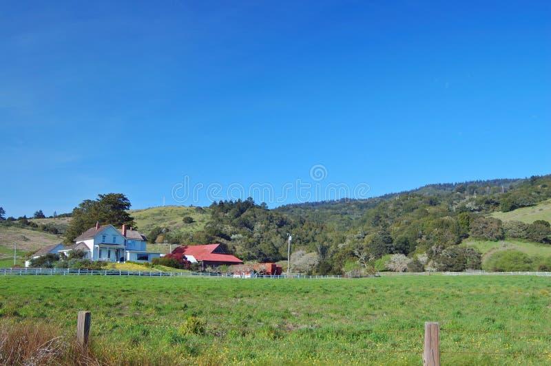 Landelijke boerderij royalty-vrije stock afbeeldingen