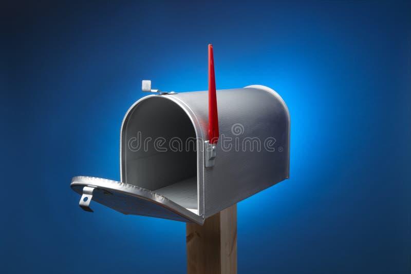Landelijke brievenbus stock illustratie