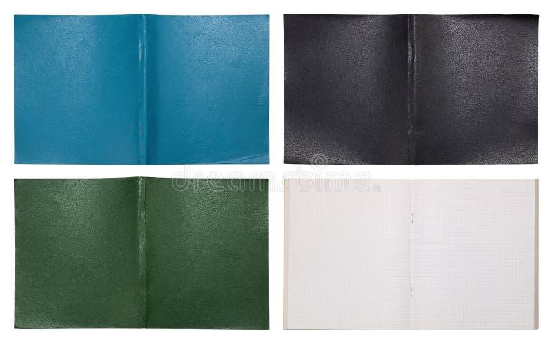 Landelijke eenvoudige notitieboekjes royalty-vrije stock foto's