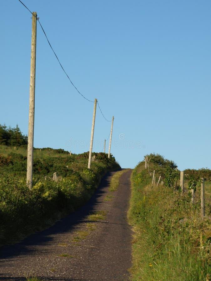 Landelijke Ierse Weg royalty-vrije stock fotografie