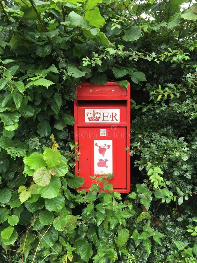 Landelijke postbus, U K stock foto's