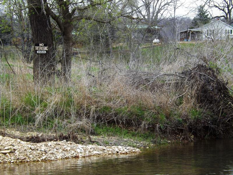 Landelijke rivier stock fotografie