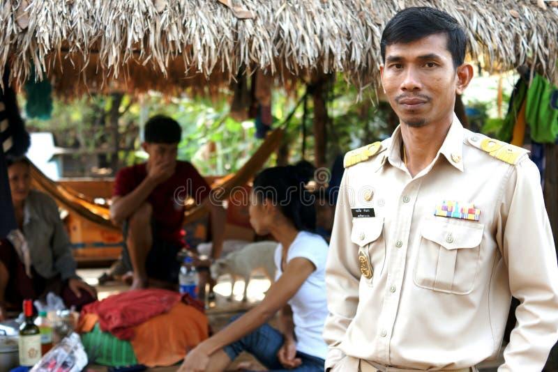 Landelijke Thaise scène stock fotografie