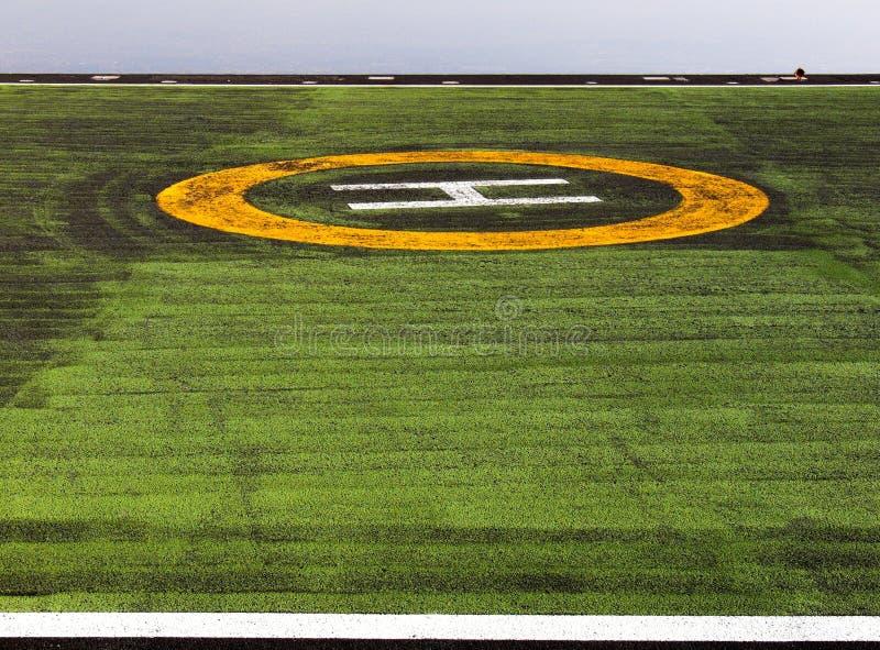 Landeplatzsichtsignal stockfotos