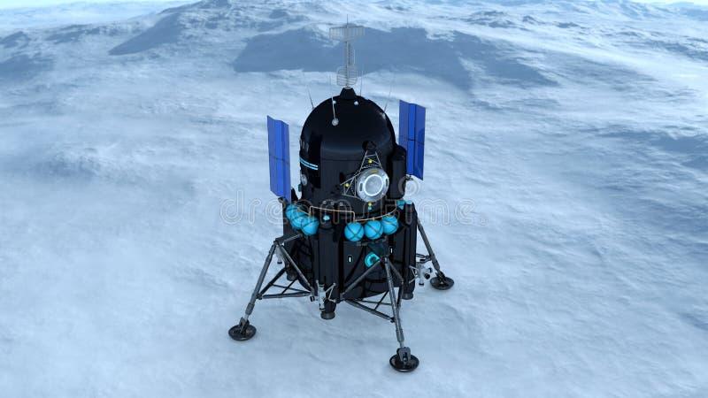 Download Lander 库存例证. 插画 包括有 观察, 行星, 幻想, 空间, 天堂般, lander, 技术, 探险 - 59106894