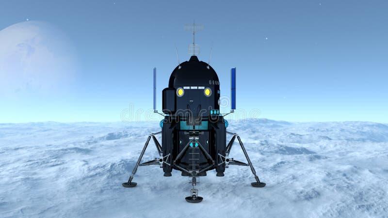 lander zdjęcie royalty free