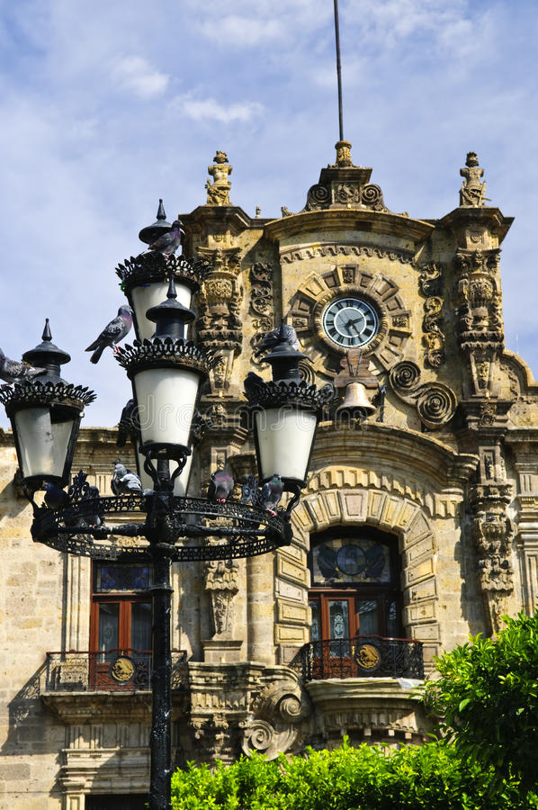 Landesregierung-Palast in Guadalajara, Mexiko stockbilder