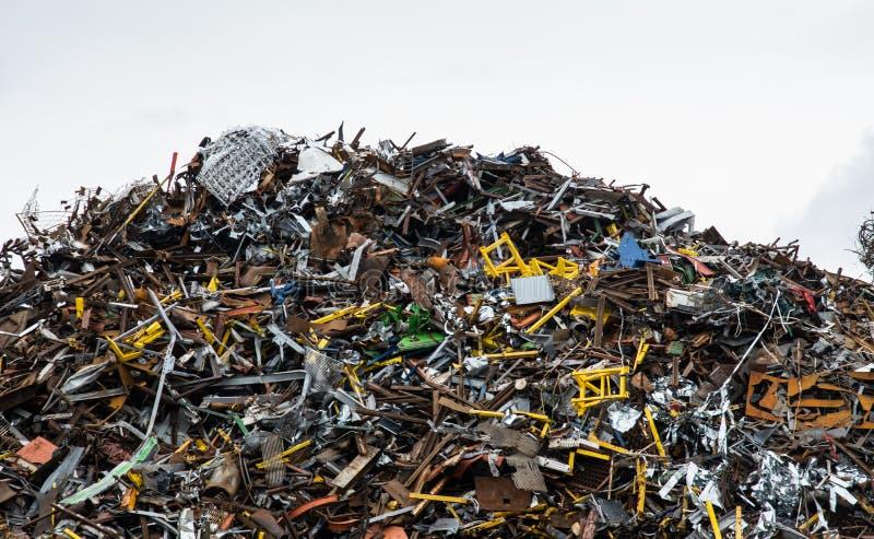 landfill royaltyfri foto