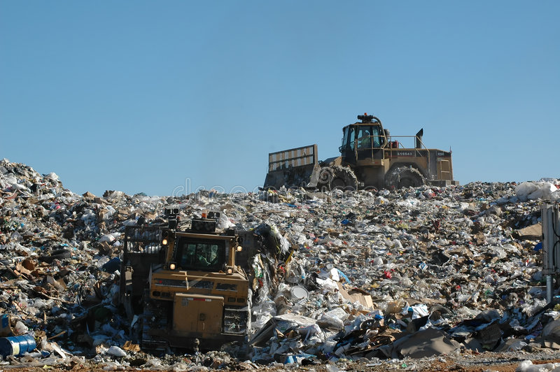 Landfill 2 royalty free stock images
