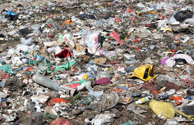 landfill imagens de stock