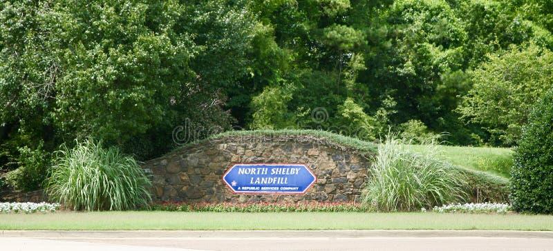 Landfill of North Shelby County stock photos
