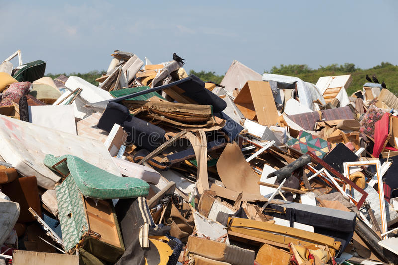 11 Landfill Old Furniture Garbage Dump Photos - Free & Royalty