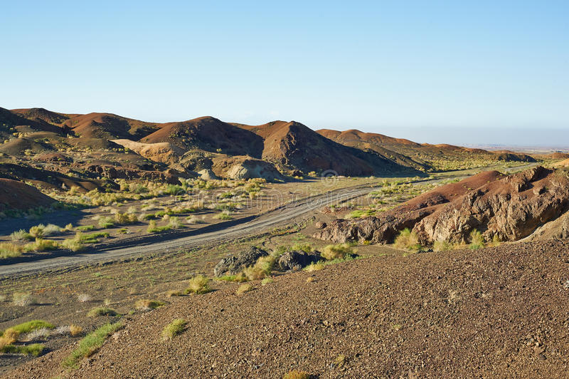 Landform ветровой эрозии стоковые изображения