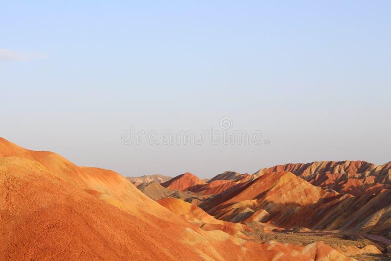 Landform Danxia стоковая фотография rf