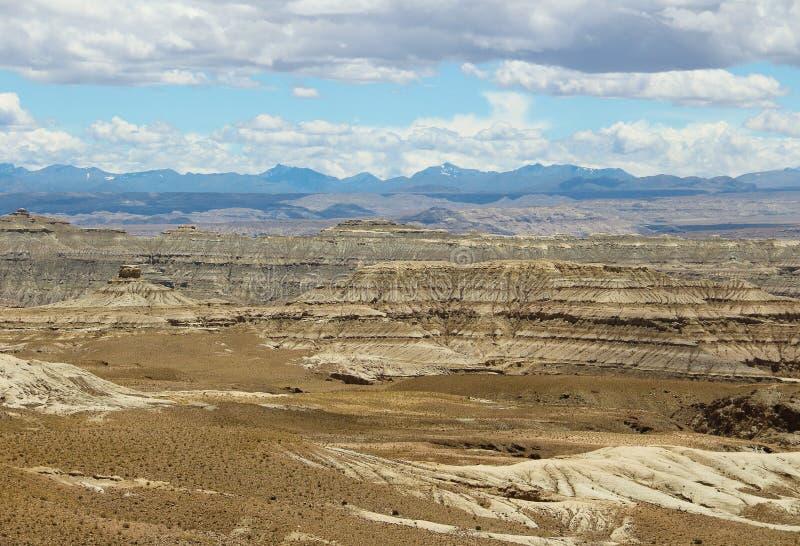 Landform do cársico em Tibet fotos de stock