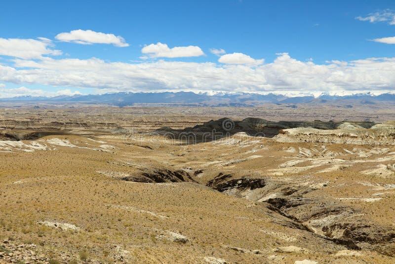 Landform do cársico em Tibet fotografia de stock royalty free