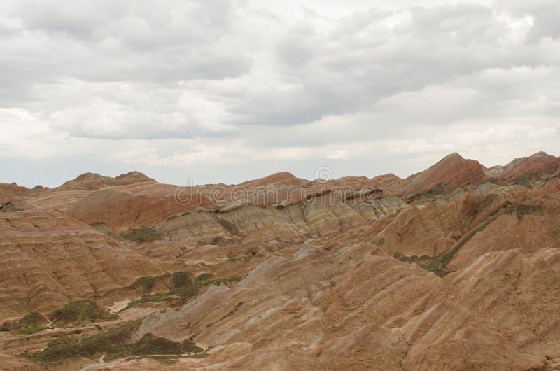 Landform van Danxia royalty-vrije stock afbeeldingen