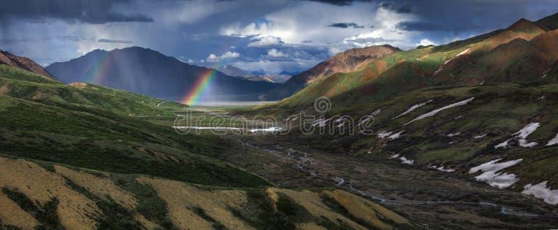 Гористая местность, природа, гора, гористые Landforms стоковое изображение rf