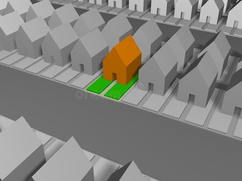 Landgoed vector illustratie