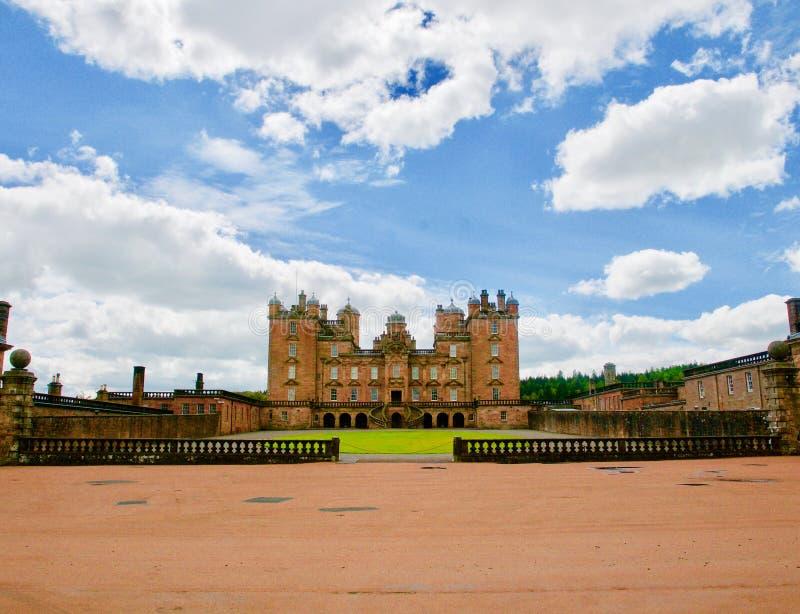Landgoed van het kasteel royalty-vrije stock afbeeldingen