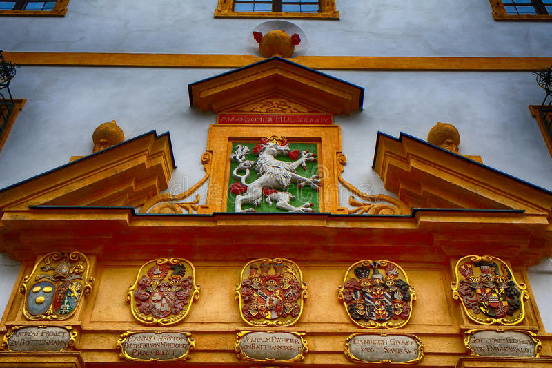 Landhaus, Грац, Австрия стоковые изображения