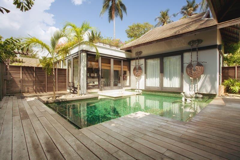 Landhaus stockbild