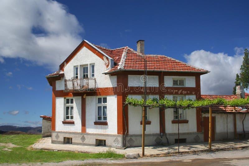 Landhaus lizenzfreie stockfotografie