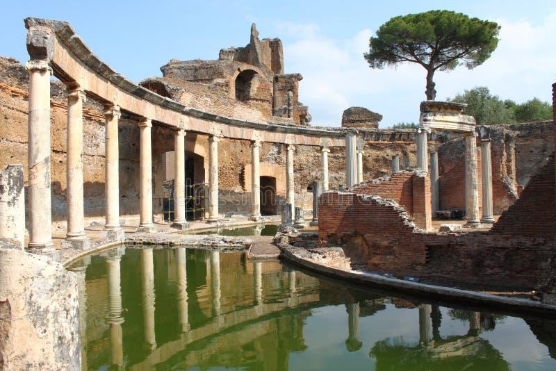 Landhaus Adriana nahe Rom stockbild