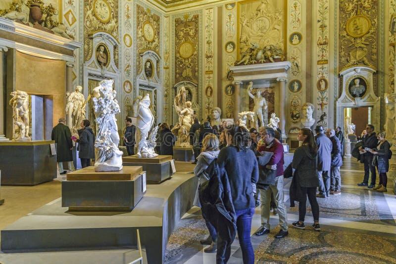 Landhaus Borghese-Galerie lizenzfreies stockfoto