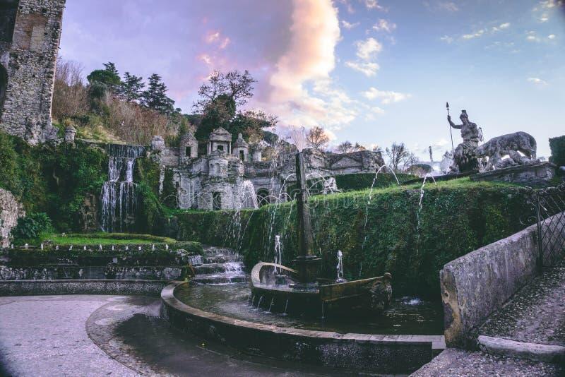 Landhaus de Este Italien lizenzfreies stockbild