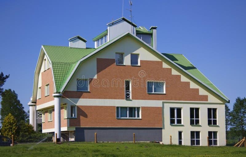 Landhaus, Häuschen stockfoto