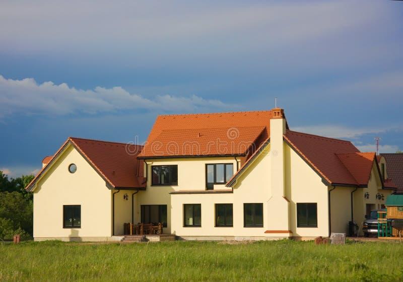 Landhaus, Häuschen stockfotografie