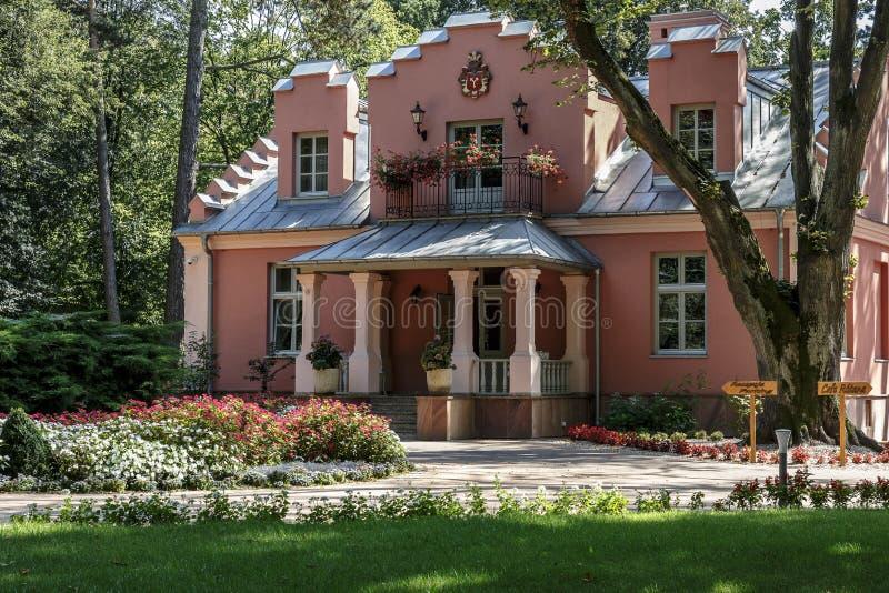 Landhaus Rozana in Naleczow, Polen lizenzfreies stockbild