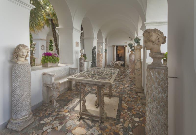 Landhaus San Michele in Anacapri lizenzfreie stockfotografie