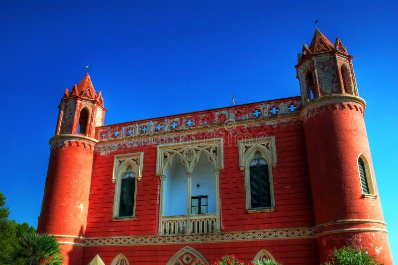 Landhaus in Santa Maria di Leuca stockfoto