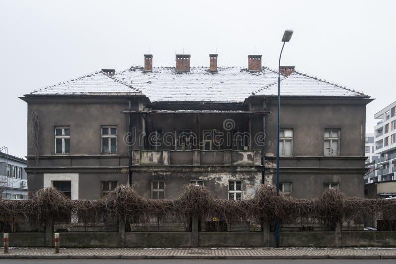 Landhaus Schindler in Krakau - Polen lizenzfreie stockfotos