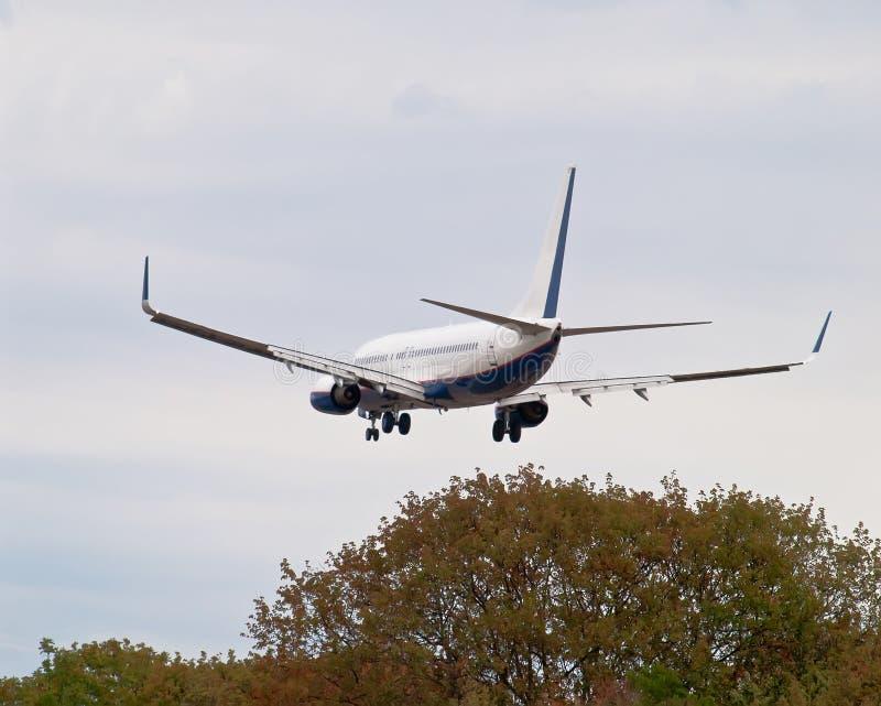 Download Landing airplane stock image. Image of jetplane, flight - 26521053