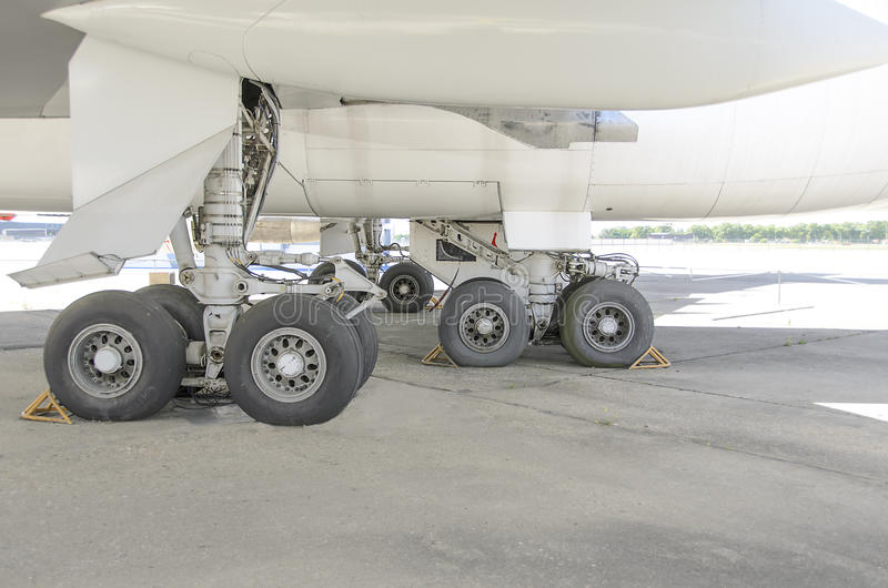 Landing gear royalty free stock image