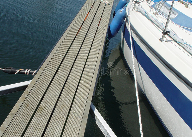 landing stage 1 royalty free stock images