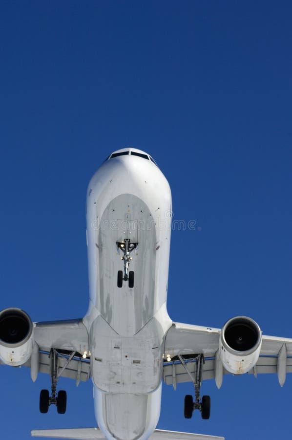 Landingsgestel van vliegtuig stock afbeelding