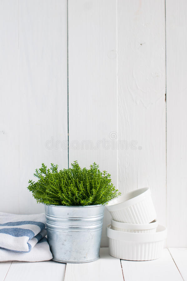 Landküchendekoration lizenzfreie stockbilder