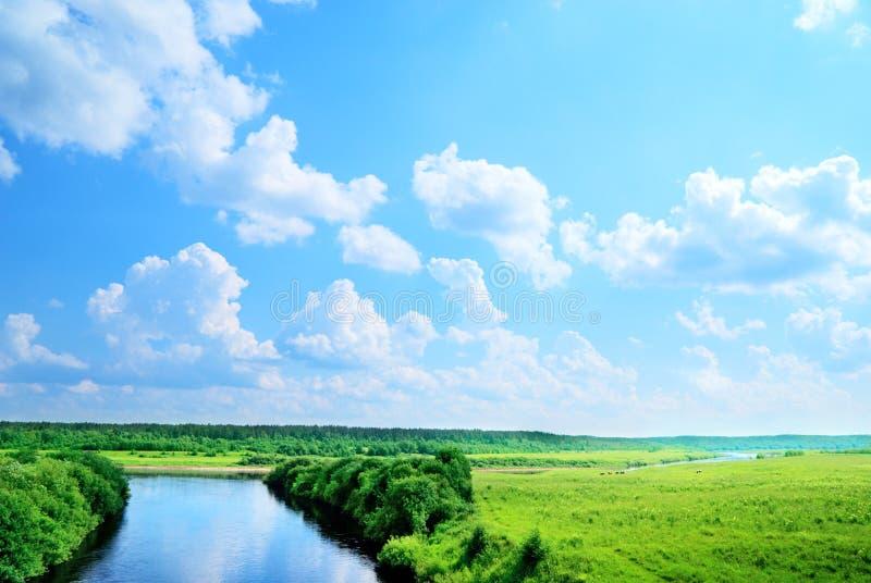 Landlandschaft lizenzfreie stockfotos