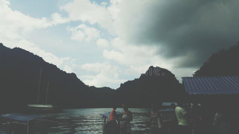 landlangkawi malaysia para sailer till royaltyfri fotografi