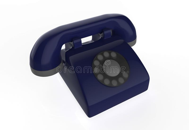 Landline phone vector illustration