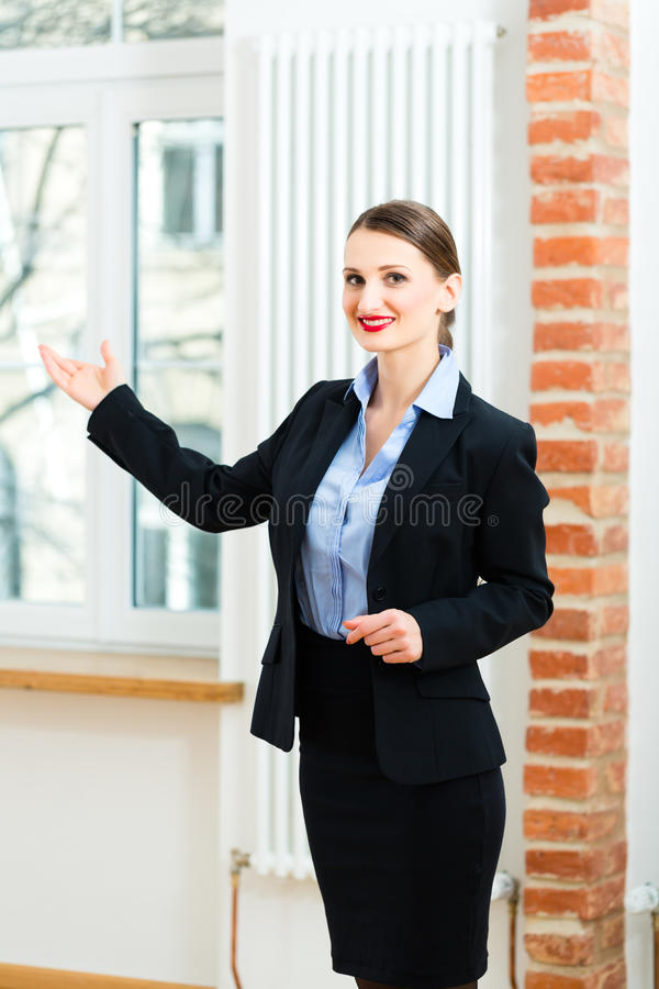 Download Landlord Makes Advertising For Apartment Stock Image - Image: 30692661