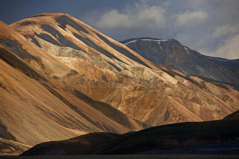 landmannalaugar royaltyfri fotografi