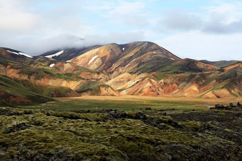 Landmannalaugar lizenzfreie stockbilder