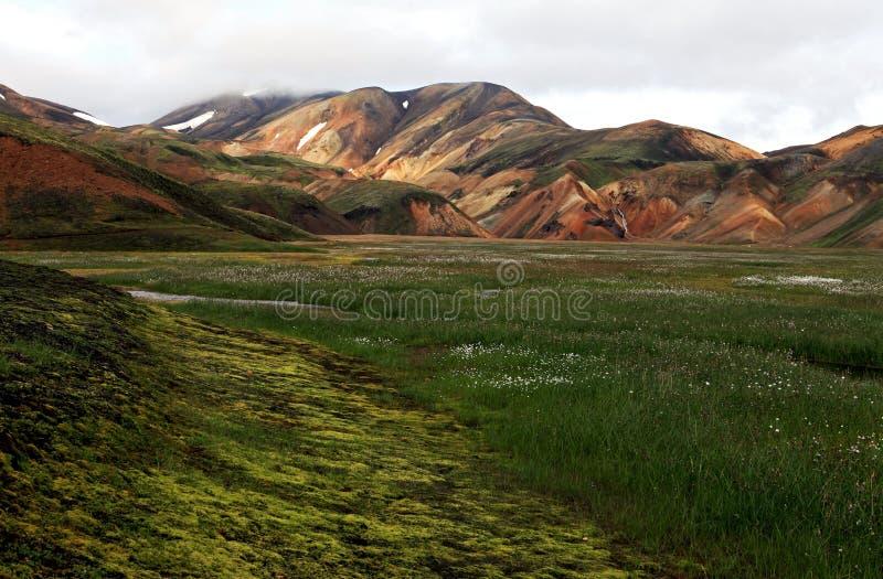 Landmannalaugar stockbilder