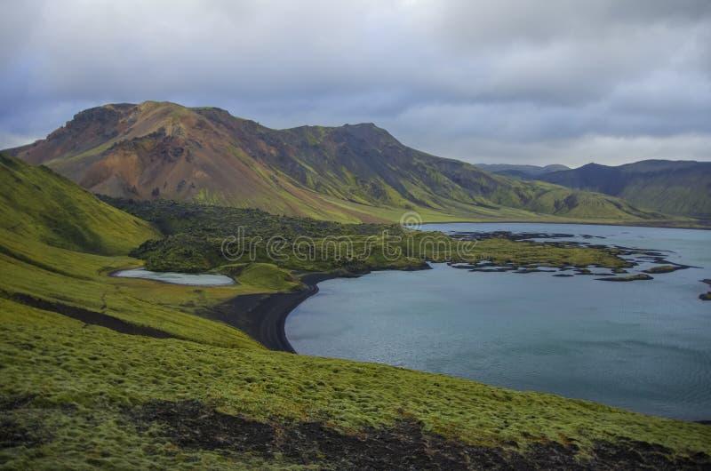 Landmannalaugar images libres de droits